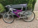 Ladies full suspension bike