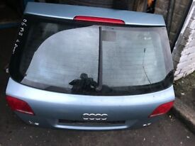 06 AUDI A3 4 DOOR TAILGATE GOOD CONDITION