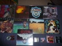 Rock Records Job Lot LP's Vinyl c.ds etc