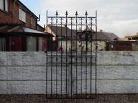 Wrought iron gate / Garden gate / Metal gate / Steel gate / Tall gate / Side gate / Entry gate
