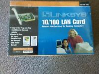 LINSKYS 10/100 LAN network Card