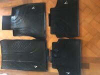 Bmw 7 series rubber mats and boot liner