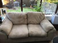 2x deep two seater sofas (Harvey's)