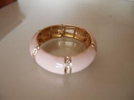 BNWOT Next beige/nude bracelet