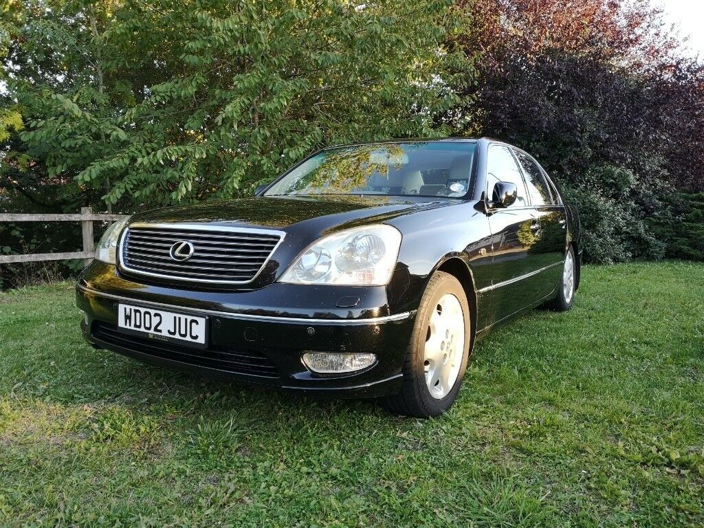 2002 Lexus LS430 UL Black | in Totton, Hampshire | Gumtree