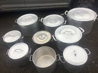 Catering pots