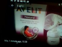 Avent electric breast pump and newborn baby boy clothes