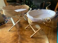 Baby Moses basket and stand, one or both