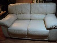 Cream Leather Sofa Quick Sale Quick Sale