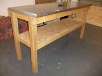 Work Bench 6 ft (180 cm) long. Solid well made.