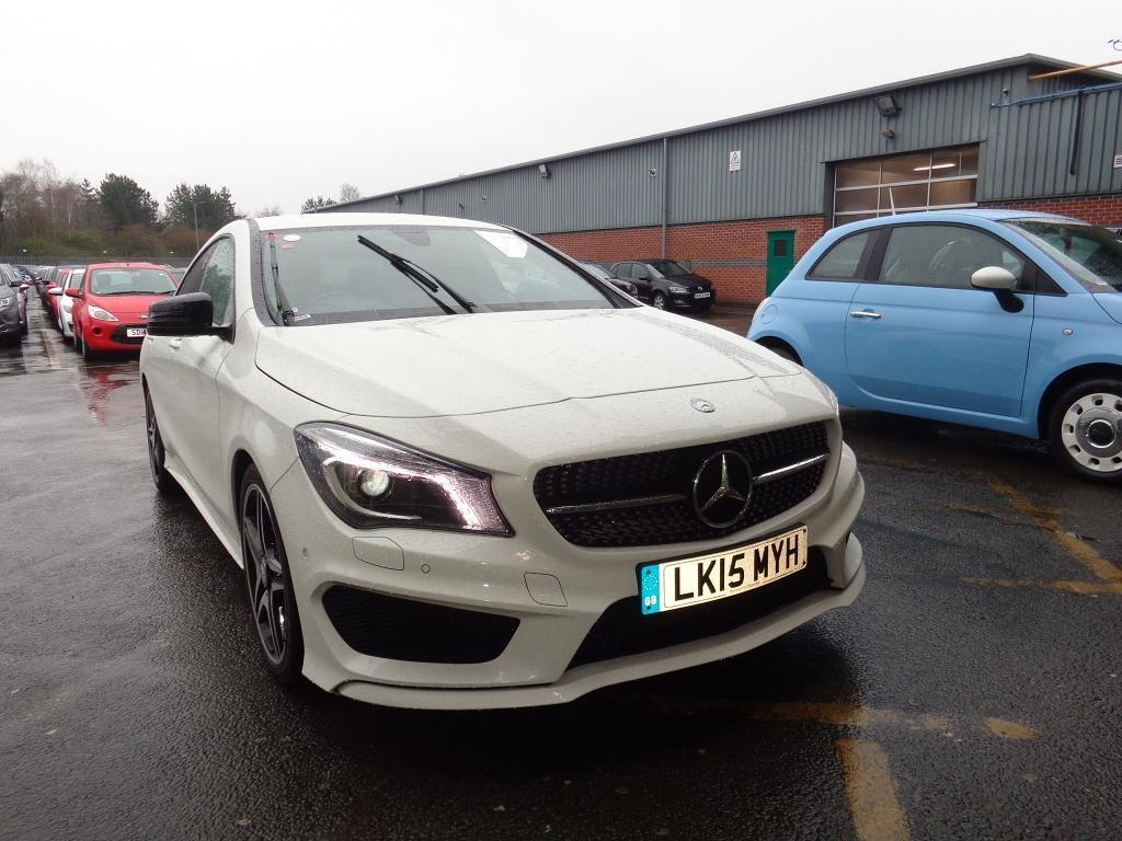 mercedes benz cla class cla 200 cdi amg sport 4dr white 2015 in winsford cheshire gumtree. Black Bedroom Furniture Sets. Home Design Ideas