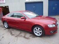 Audi A5 2.0 TDI,2 door Coupe,FSH,stunning looking car,full leather interior,stop/start,YG59JPV