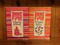 Set of TWO great books for children by ANNE FINE- 'Frozen Billy' and 'Charm School'