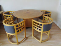 Round table and 4 chairs for £40. Southsea
