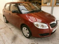 2008 SKODA FABIA 1.2 HTP 5DOOR HATCHBACK, SERVICE HISTORY, ONE OWNER CAR, HPI CLEAR, CLEAN LIKE NEW