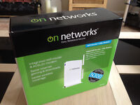 On Networks™ N150RM Wireless ADSL2+ Router (White) with PSU & Data Cable