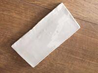 Box of 40 light grey brick tiles