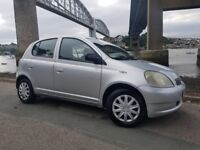 Toyota Yaris Gls 5 Door Hatchback 1.0ltr (Only 98,885miles,Ideal First Car,Runner)