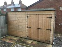 Sold ———- shed 12ft x 5ft twin doors