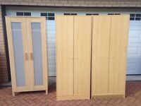 URGENT SALE USED WARDROBES AND TABLES