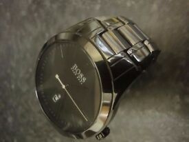 Hugo Boss watch HB-269-1-49-2792 / HB1513223 Ceramic Black super condition