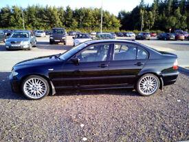 BMW 330i Sport, 54 reg, Met Black, Leather Sports Seats