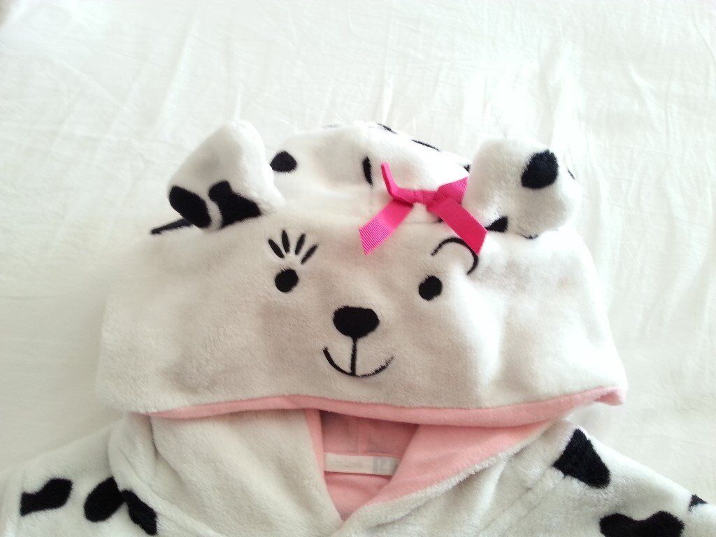 Dalmation Fluffy Fleece Outfit for 10 - 13yr Child.
