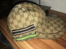 2x Rare Gucci ggweb cap, limited edition, mint condition