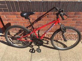 Apollo XC24 junior bike red