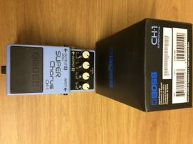 Boss CH1 Super Chorus Pedal in mint condition