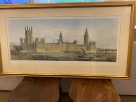 The New Palace at Westminster by Day & Son Lithographers to the Queen