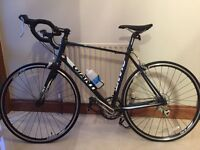REDUCED: GIANT DEFY 5 Men's Bicycle Size M/L (Black/Blue/White) - Never Used! With helmet!