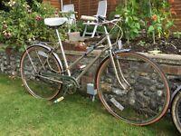 Ladies retro town bike. £40ono
