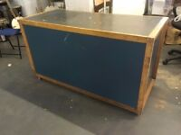 Lovely Gratnell Tray cabinet on Wheels