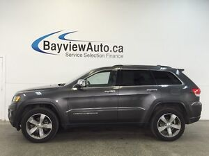 2015 Jeep GRAND CHEROKEE LTD- 4x4! LEATHER! NAV! SELEC-TERRAIN!