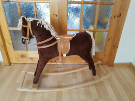 VINTAGE ROCKING HORSE by Davies (Liverpool)