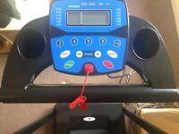 TREADMILL Folding Running Machine Motorised Electric Fitness by NERO SPORT