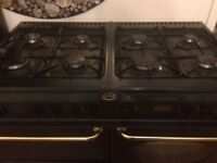 Belling Dual Range Cooker double electric oven. Gas hob with 8 rings. H 915 mm W 1000mm D 600mm VGC