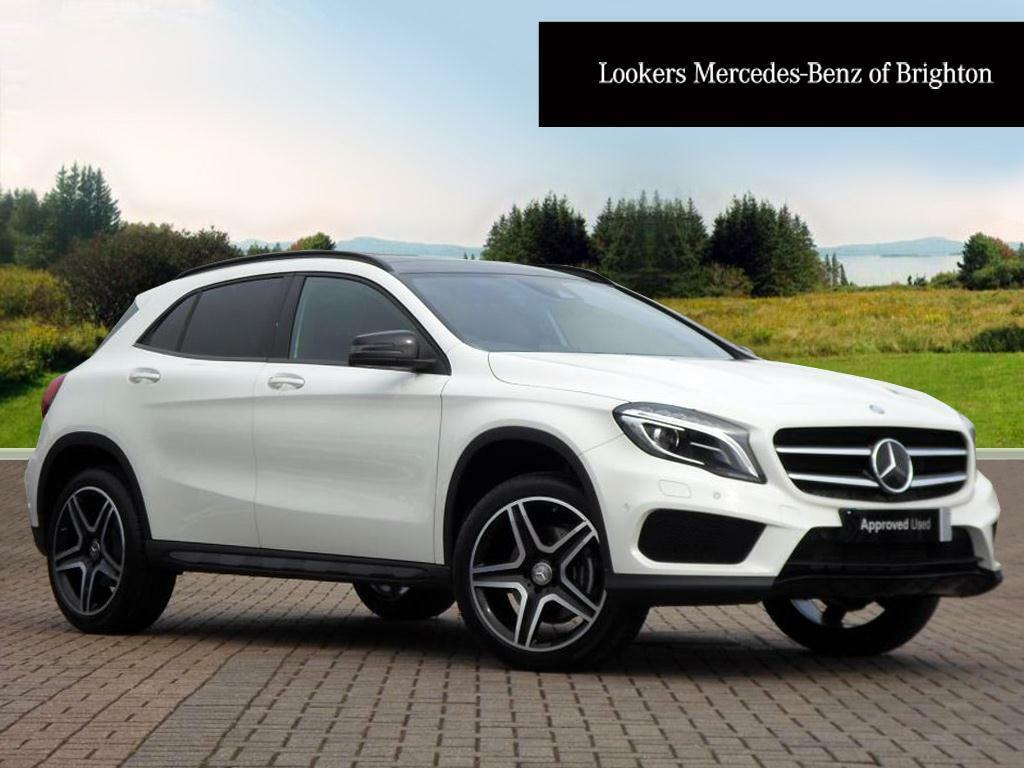 mercedes benz gla class gla 250 4matic amg line premium plus white 2016 05 27 in portslade. Black Bedroom Furniture Sets. Home Design Ideas