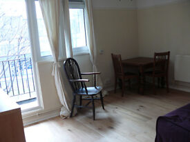 South facing one bedroom flat in Spitalfields. Spacious, light and in excellent condition