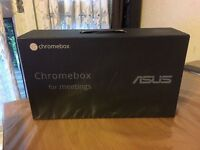 Asus Chromebox M020U i7 2.1GHz 4GB 16GB -For Video Conferencing, Meeting -BRAND NEW AND SEALED (ONO)