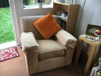 PRICED TO SELL - M&S armchair with delivery. Marks and Spencer John Lewis Habitat Ikea arm chair
