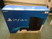 SONY PlayStation 4 Pro 1TB BRAND new and sealed