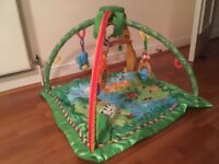 Fisher Price Rainforest Musical Activity Baby Gym/play mat. Good condition.