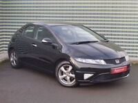 2010 Honda Civic 1.4 iVTEC SI 5 Door Hatch - Low Mileage - 6 Speed Manual - FREE WARRANTY