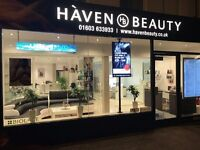 Experienced Nail Technician / Beauty Therapist Required