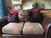 DFS Perez 2 Seater sofa and chair ex condition