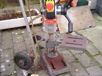 AXMINSTER RADIAL DRILL BENCH DRILL 5 SPEED LARGE 33X32 USED