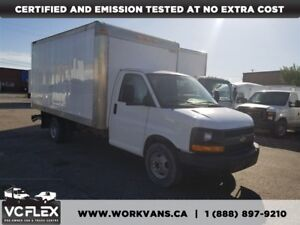 2010 Chevrolet Express 14Ft Aluminum Box + Tow Package V8 Gas