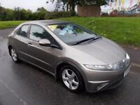 HONDA CIVIC 1.8 SE I-VTEC 5d 139 BHP (grey) 2008